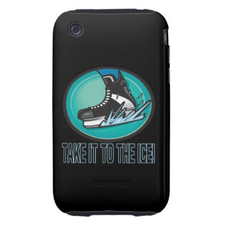 Take It To The Ice Tough iPhone 3 Cover