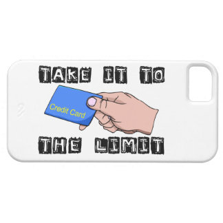 Take It To The Limit Credit Card iPhone 5 Covers