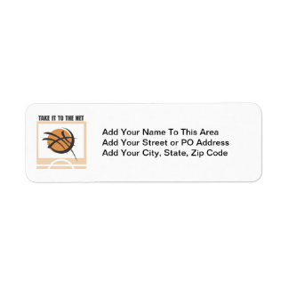 Take it to the Net T-shirts and Gifts Return Address Label