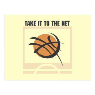 Take it to the Net T-shirts and Gifts Postcard