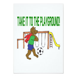 Take It To The Playground Card