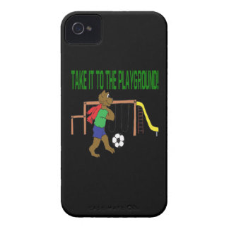 Take It To The Playground iPhone 4 Covers