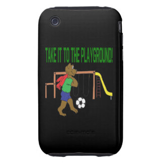 Take It To The Playground Tough iPhone 3 Cover