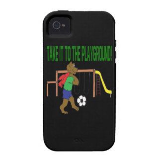 Take It To The Playground iPhone 4/4S Covers