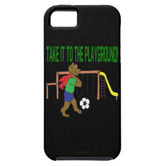 Take It To The Playground iPhone 5 Cases