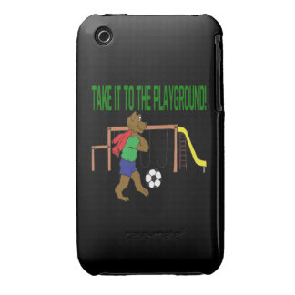 Take It To The Playground iPhone 3 Case-Mate Case