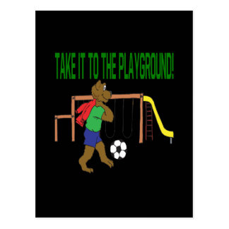 Take It To The Playground Postcard