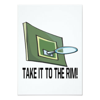 Take It To The Rim Card