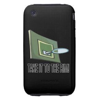 Take It To The Rim iPhone 3 Tough Case