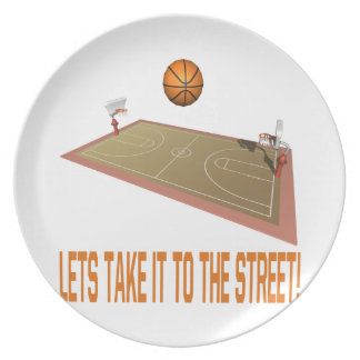 Take It To The Street Plate