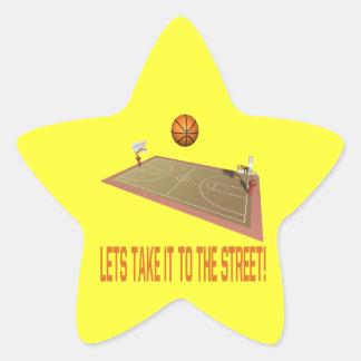 Take It To The Street Star Sticker