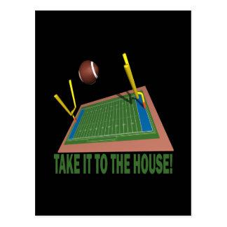 Take It ToThe House Postcard