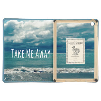 Take Me Away Beach Quote Case For iPad Air