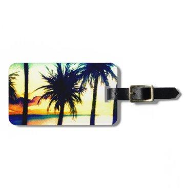 Beach Themed Take Me Away Luggage Tag