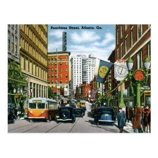 Take Me Back to Old Atlanta Postcard