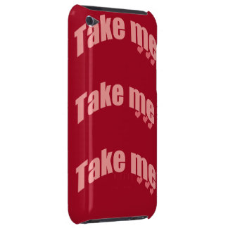 take me barely there iPod case