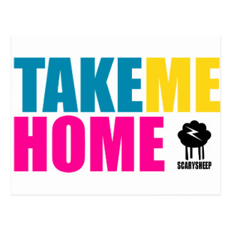 Take Me Home Postcard