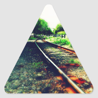 Take Me Home Triangle Sticker