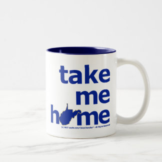 Take Me Home Two-Tone Coffee Mug