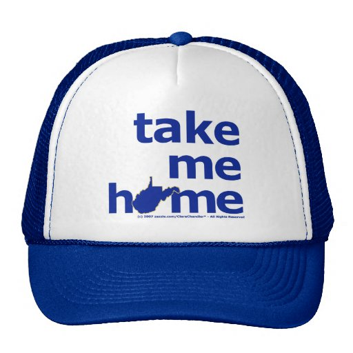 Take Me Home West Virginia Hats