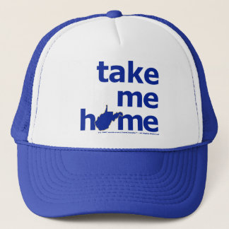 Take Me Home West Virginia Trucker Hat