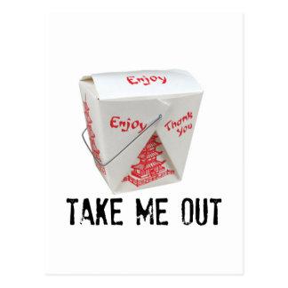 Take Me Out! Postcard