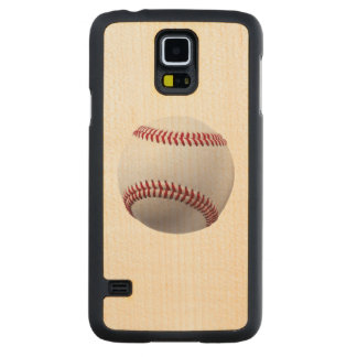 TAKE ME OUT TO THE BALL GAME! (baseball) ~ Carved® Maple Galaxy S5 Slim Case