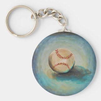 Take me out to the Ball Game! Basic Round Button Keychain