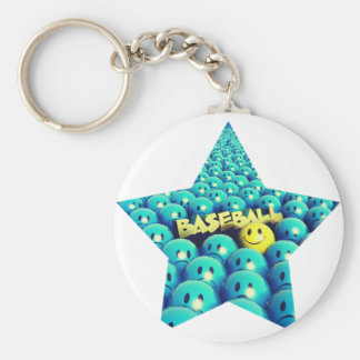 Take Me Out To The Ball Game Basic Round Button Keychain