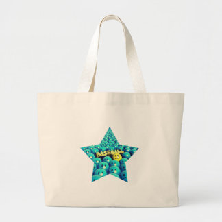 Take Me Out To The Ball Game Large Tote Bag