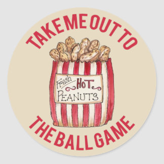 Take Me Out To The Ball Game Sticker