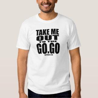 Take Me Out To The Go-Go - White Tee