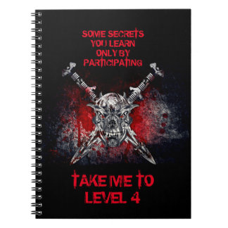 Take Me to Level 4 Notebook