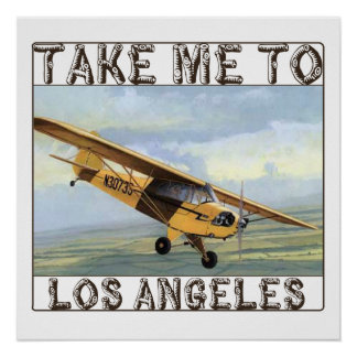 Take Me To Los Angeles Poster