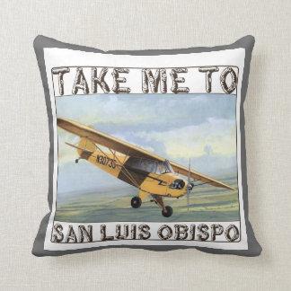 Take Me To San Luis Obispo Throw Pillow