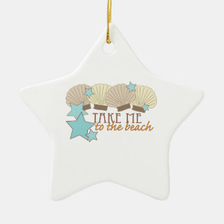 Take Me To The Beach Christmas Tree Ornament