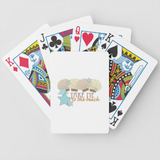Take Me To The Beach Poker Cards