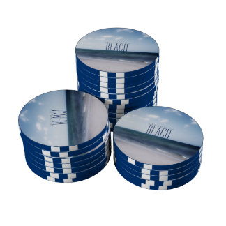 Take Me To The Beach Poker Chips Set