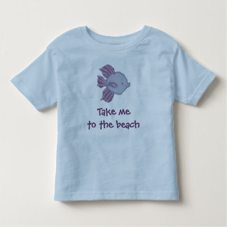 Take me to the beach. Tropical Fish Shirt