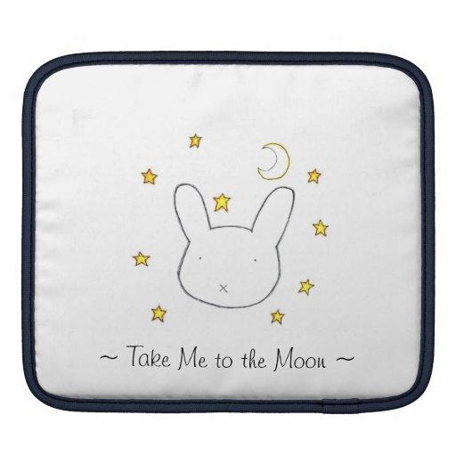 Take Me to the Moon iPad Sleeve