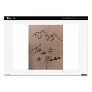 Take Me to the Mountains Laptop Skins