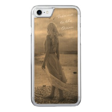 Take me to the Ocean Carved iPhone 7 Case