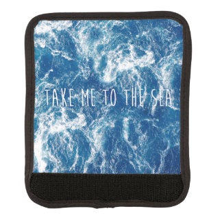 Take me to the sea luggage handle wrap