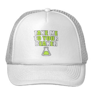Take Me to Your Beaker Mesh Hat