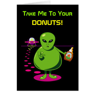 Take Me To Your Donuts! Card