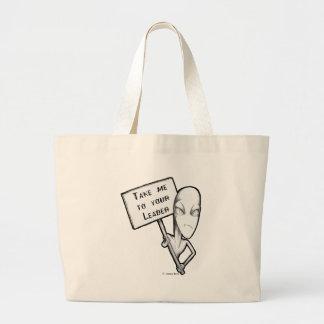 Take me to your Leader Bag