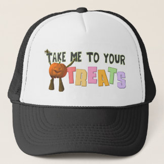 Take Me To Your Treats Trucker Hat