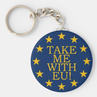 Take Me With EU Keychain