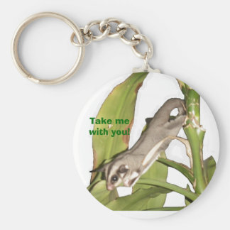 Take me with you! basic round button keychain