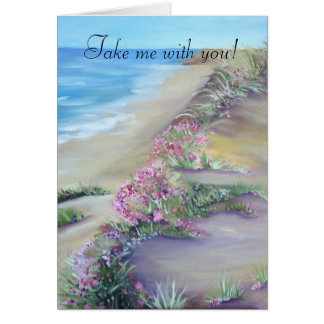 take me with you - card